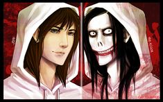 READ THE DESCRIPTION BEFORE YOU COMMENT I miss drawing Jeff the killer so here is my version of his face. I usually imagine him with semi long ratchet hair, somewhat a narrow face, looks more ghett...