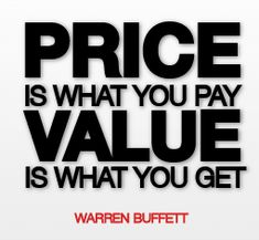 Warren Buffet Value vs Price  #warrenbuffett #warrenbuffettquotes #kurttasche