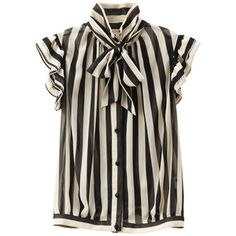 Stripe Blouse.