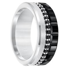 Mens Wedding Bands.com has one of the internet's largest selections of black diamond, meteorite, antler, wood and exotic inlays.