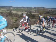Cancellara tijdens de Strade Bianche