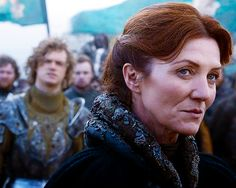 Photo of Catelyn and Loras for fans of Catelyn Tully Stark.