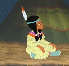✶ Tiger Lily looks awfully focused on something or other. Walt Disney, Disney Art, Disney Movies, Disney Pixar, Disney Characters, Disney Girls, Disney Stuff, Tinkerbell 3, Peter Pan And Tinkerbell