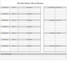 Business Trip Planner  Template Sample  Printables