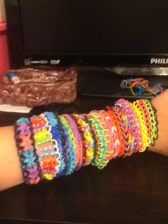 how to make different types of loom bracelets