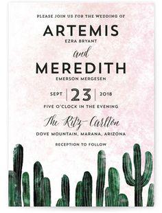 50+ Cactus and Succulent Wedding Invitations - Unique Rustic Wedding Invitations.com #succulentweddinginvitations #rusticweddinginspiration
