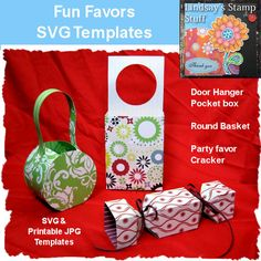 Fun Favors SVG Price:   $3.00