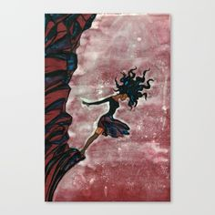 Buy A Dream Suicide Canvas Print by yasserart. Worldwide shipping available at Society6.com. Just one of millions of high quality products available.