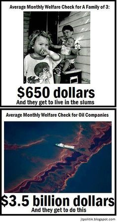 """BIG OIL"" GREEDY RICH CORPORATE WELFARE MOOCHERS....THE REAL WARFARE QUEENS!! CUT THESE PIGS FROM THE TROUGH!!"