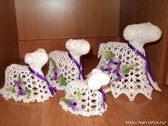 Пасхальное вязание крючком. ОВЕЧКИ (8) (500x375, 164Kb)