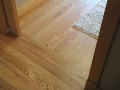 Hardwood Floors Borders Between Rooms floor runs the other way