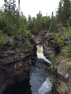 Temperance River on the Superior Hiking Trail