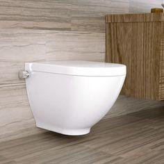 Bezrantowa miska WC z funkcją bidetu AquaDuo Harmony MA Bathtub, Canning, Bathroom, Standing Bath, Washroom, Bath Tub, Bath Room, Tubs, Bathrooms