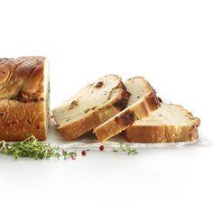 Pan de ajo y tomate, parmesano y tomillo