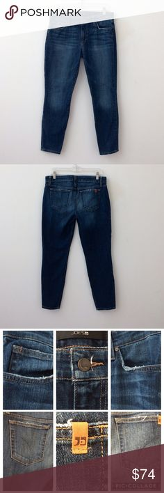 """Joe's Jeans Size 30 Joe's jeans size 30. Skinny ankle.  5 pockets. Zip fly & button closure. Distressed around pocket areas.   98% Cotton & 2% Spandex.   Approximate measurements:   Waist = 32"""" Inseam = 28"""" Outseam = 36.5"""" Leg Opening = 10"""" Front Rise = 9"""" Back Rise =12.5"""" Hips = 37""""   Great condition. Can share more photos. Open to offers! Thanks for browsing. Joe's Jeans Jeans Skinny"""