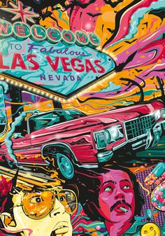 Fear and Loathing in Las Vegas Tribute Poster Artwork on Behance lasvegas is part of Pop art tattoos - Pop Art Tattoos, Kunst Tattoos, Tattoo Art, Mark Tattoo, Retro Kunst, Retro Art, Vintage Pop Art, Kunst Inspo, Art Inspo