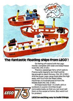 Old LEGO Ads