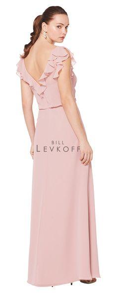f2ea23959a0 Bill Levkoff style 1602 (back) Bill Levkoff Bridesmaid Dresses