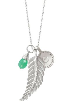 I want to create my own necklace-my son's birthstone and initial charm with the leaf...AND the Mom charm :)