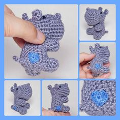 Hey, I found this really awesome Etsy listing at https://www.etsy.com/listing/216979805/small-crocheted-animal-with-tiny-heart