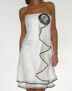 location robe de soirée blanche