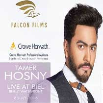 """Friday, 8 July 2016 Biel """"Beirut Waterfront"""" The Event Tamer Hosny will be performing live on july 8th for a massive show at Biel Beirut waterfront Tickets are now available at http:// www.ticketingboxoffice.com/ tamer-hosny-tickets/event/ 8936..."""