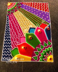 #kolamdesign#zentangle design Simple Rangoli Designs Images, Rangoli Designs Latest, Colorful Rangoli Designs, Rangoli Designs Diwali, Beautiful Rangoli Designs, Diya Rangoli, Rangoli Ideas, Indian Rangoli, Easy Rangoli