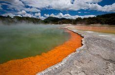 Réserve thermale de Waiotapu, Rotorua, Nouvelle Zélande - http://www.photomonde.fr/reserve-thermale-de-waiotapu-rotorua-nouvelle-zelande/