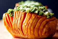 Nutrient dense and packed full of flavour with the right balance of sweet and savoury. An easy side dish or just eat the sweet potatoes by themselves. Perfect match of sweetness with the tang of pesto! These Pumpkin Seed Parsley Lemon Pesto Hasselback Sweet Potatoes are so easy to make and once you…