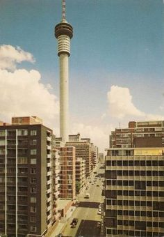 Hillbrow Johannesburg. Largest Countries, Countries Of The World, Johannesburg City, Exotic Places, New South, Historical Pictures, African History, The Good Old Days, Aerial View