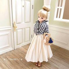 ちぇり【Teeny Fairy】さんはInstagramを利用しています:「少し晴れたので今日はベランダにドールハウスを出して撮影しました📷* * 昨日のpostは雨だったので家の中で撮影しましたが、やっぱり外のほうがキレイに撮れます😂室内での撮影はライトがないと無理そうです😭* * * 【バッグ】@licca_aya 様🌷* *…」 Barbie World, Fairy Art, Diy Doll, Cute Dolls, Ball Jointed Dolls, Gifts For Girls, Doll Clothes, Kids Fashion, Tulle