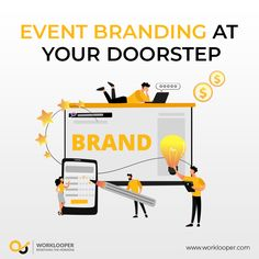 Capture The Brand Image With Elegant Event Branding Services. #EventBranding #Branding #EventBrandingServices #BrandingServices #Service Branding Services, Event Branding, Branding Agency, Effective Marketing Strategies, Creativity And Innovation, Lead Generation, Company Names, Brand Names, Social Media