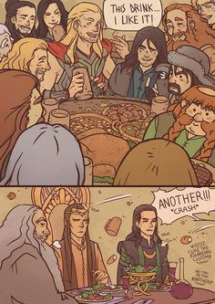 Elrond's face!!