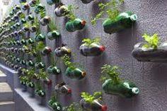 bloempot maken van fles - Google zoeken