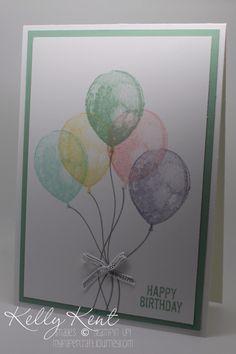SU! Balloon Builders stamp set - Kelly Kent