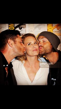 Mama Winchester and her boys at San Diego Comic Con 2016