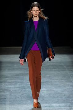 Narciso Rodriguez Fall 2013 Oh I love this color combo!