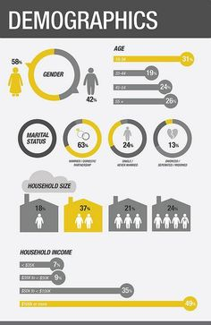 Demographics Infographics | Flickr - by Audrey Tse