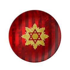 Elegant Expression Star of David Plate