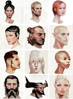 Companions and advisors http://knight-enchanter.tumblr.com/page/2