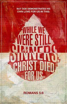#Scripture                              Romans 5:8