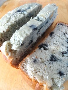 Gluten-free Blueberry Pancake Bread