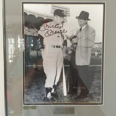 Signed Mickey Mantle rookie year photograph/print collectors piece. Paid $475 in 1952. https://www.close5.com/items/5526e0544030e71409000dda