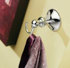 Amazon.com: Moen DN2603CH Glenshire Robe Hook, Chrome: Home & Kitchen