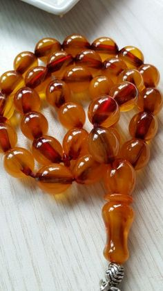 GABRIELLE'S AMAZING FANTASY CLOSET | Translucent Amber Necklace