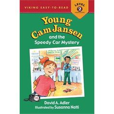 Young Cam Jansen and the Speedy Car Mystery - David Adler