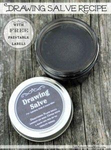 Homemade Drawing Salve Recipe