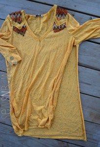 Easy Boho T-shirt Refashion Sewing Tutorial