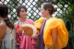 La boda de Fernanda y Borja en El Pino de San José (Sevilla) © Couche Photo Glamour, Ever After, Fashion Brand, Red Carpet, Photos, Dress Up, 1, Sari, Costumes