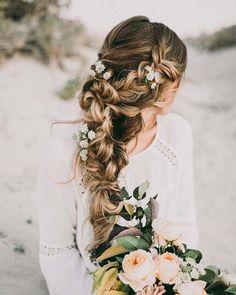 45 Romantic Wedding Hairstyles // modernwedding.com.au // Hair and Makeup by Steph
